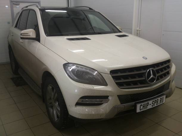 Чип-тюнинг Mercedes Benz ML (W166) 350 4MATIC  (306 л.с.)