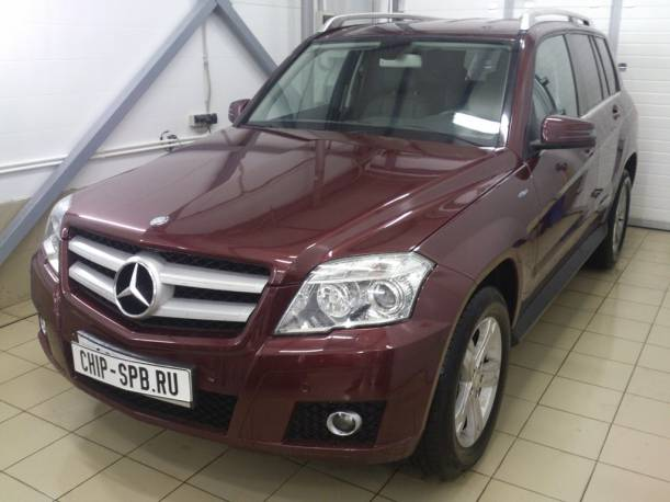 Чип-тюнинг Mercedes Benz GLK (X204) 350 CDI BlueEF (265 л.с.)